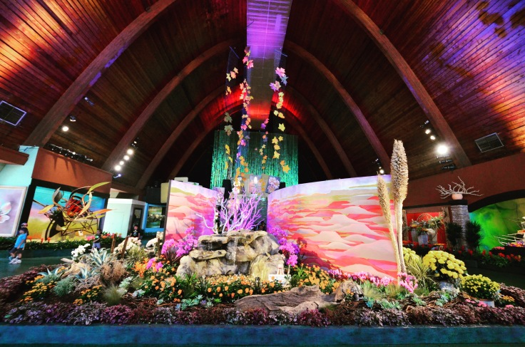 Creative Use of Flowers at Los Angeles County Fair