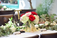 Bold Blossoms Wedding Centerpiece Southern California