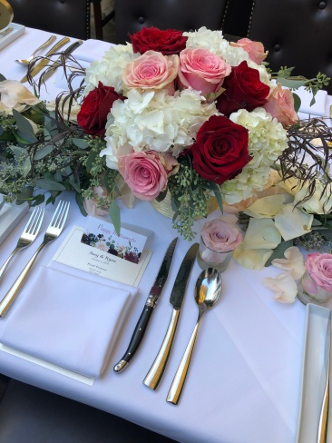 Bold Blossoms Wedding Centerpieces