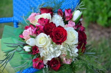 Holiday and Christmas Bouquet